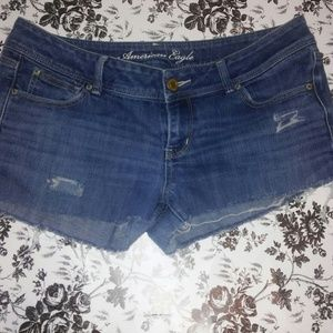 AEO cutoff jean shorts